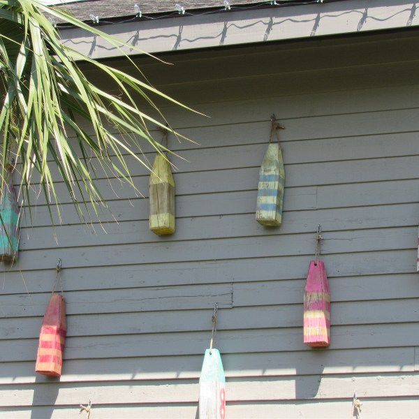 Wood buoys