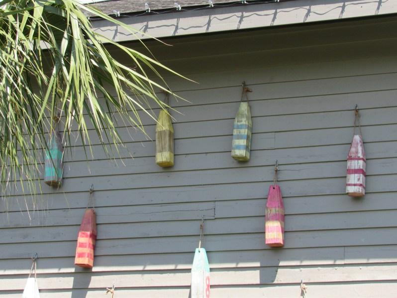 Wood buoys