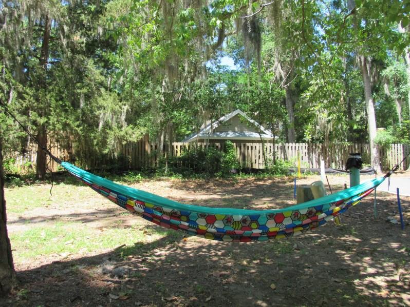 Colorful hammock