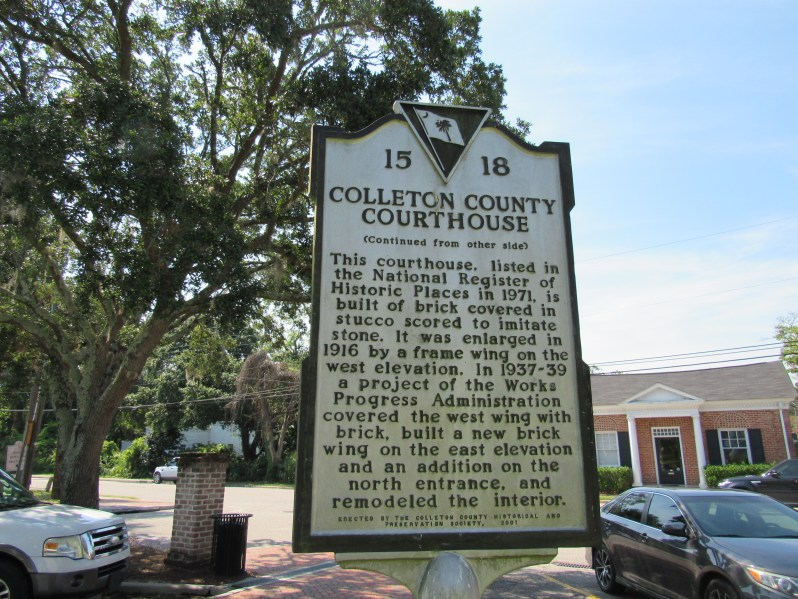 Colleton County Marker