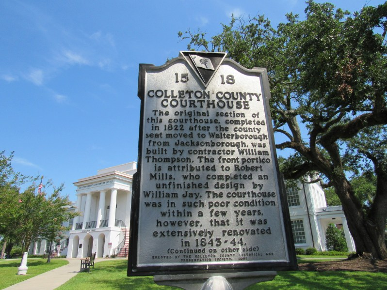 Historic Marker Colleton County