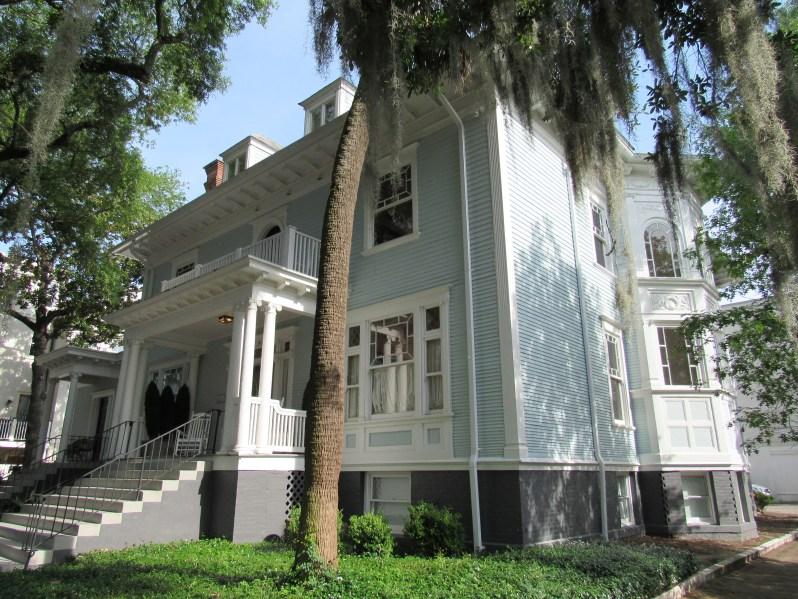 Hall street Savannah