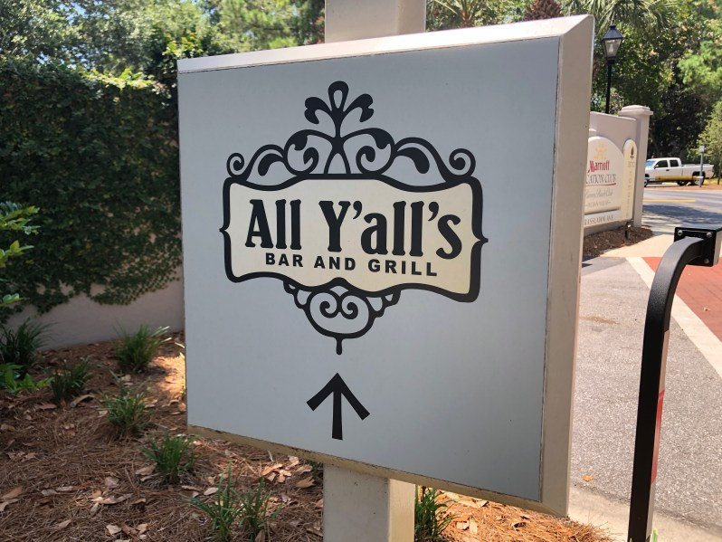 All Y'alls bar and grill