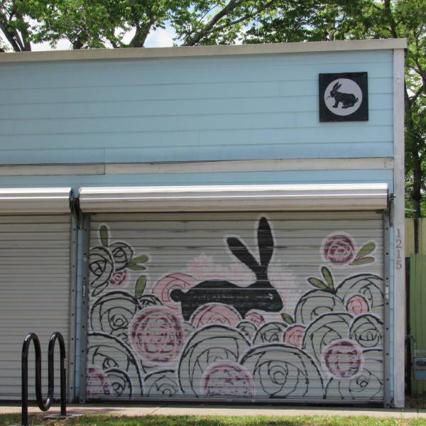 Bunny Mural