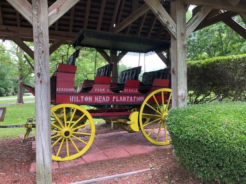 Four wheel carriage