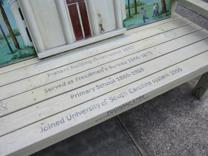 History on a bench
