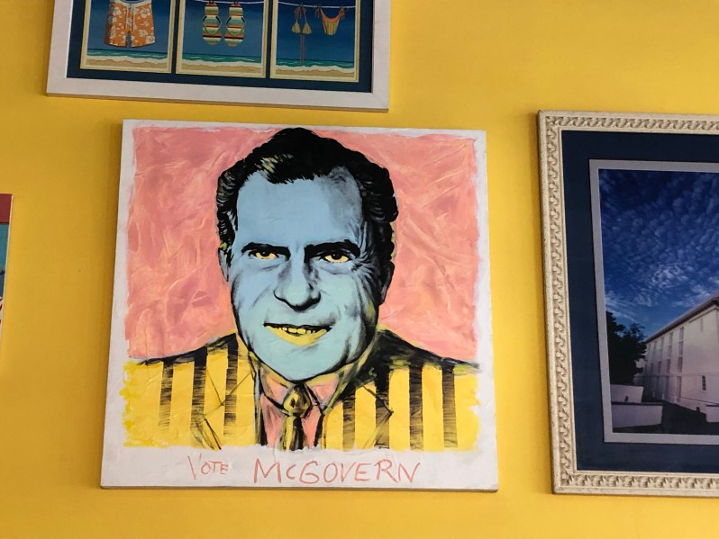 Richard Nixon painting