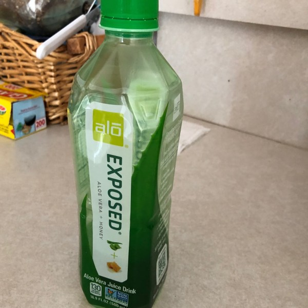 Exposed Aloe Vera drink