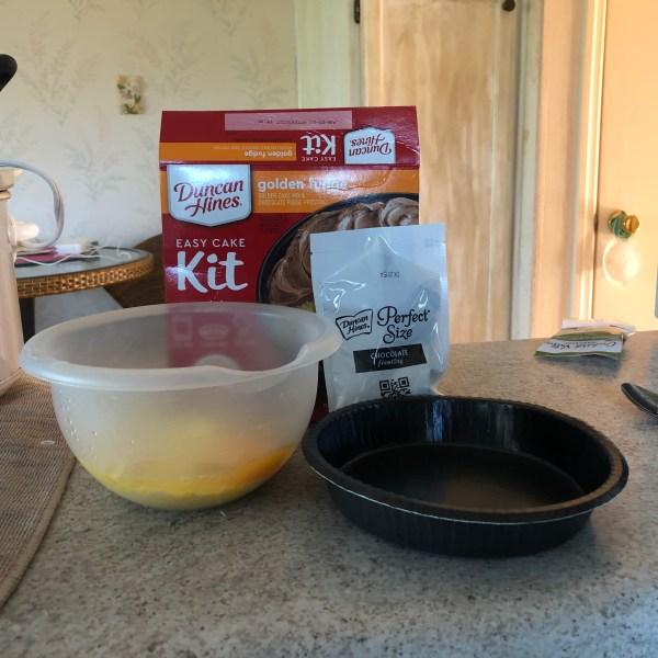 Easy cake kit