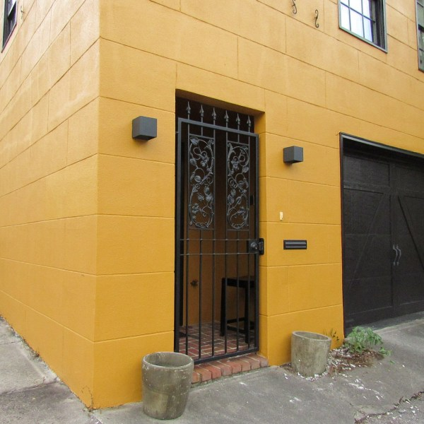 Yellow Block house