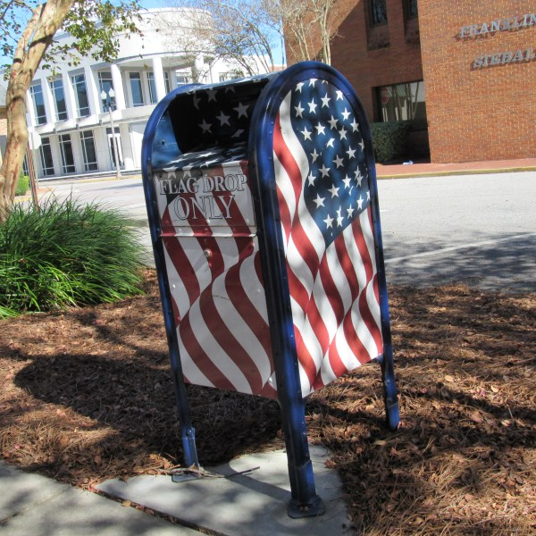 American Flag Disposal