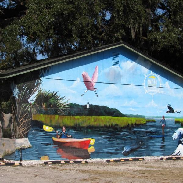 Amelia Island Mural
