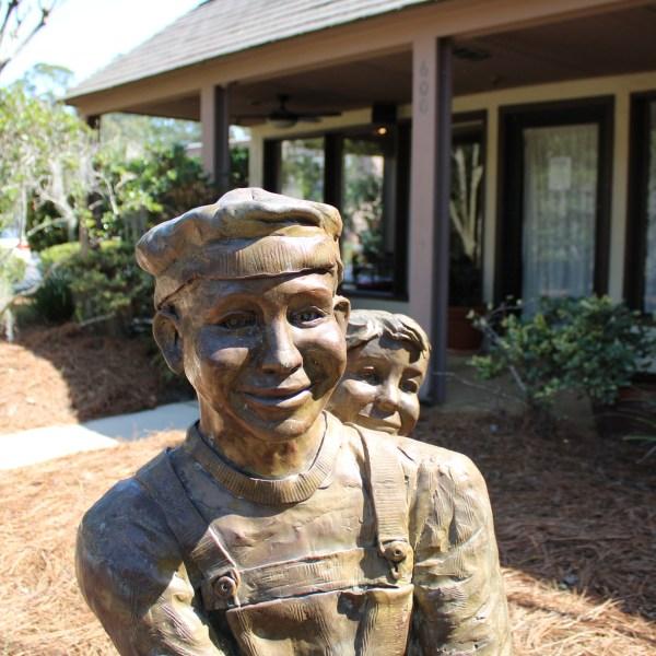 Seesaw Sculpture