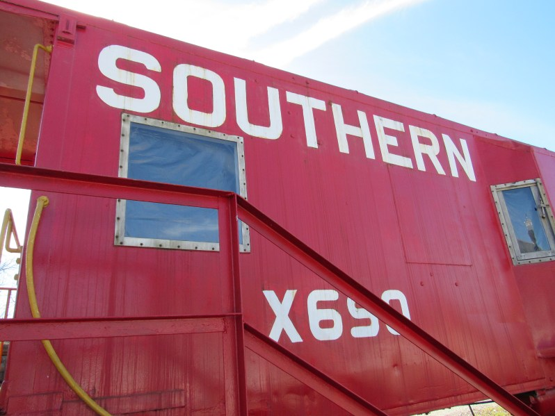 Southern rail car