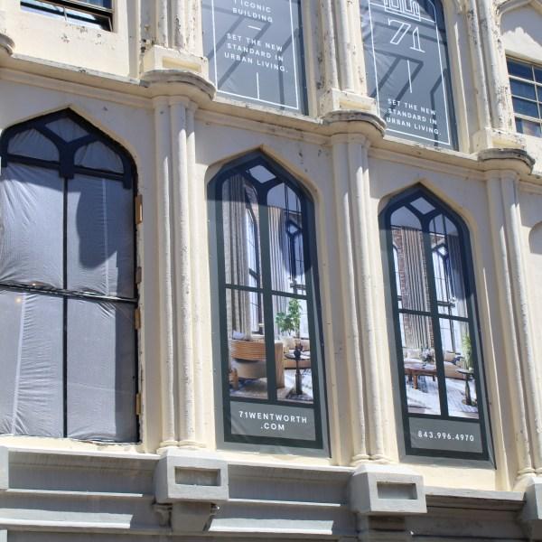 71 Wentworth arched windows