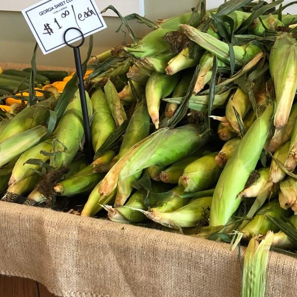 Georgia sweet corn