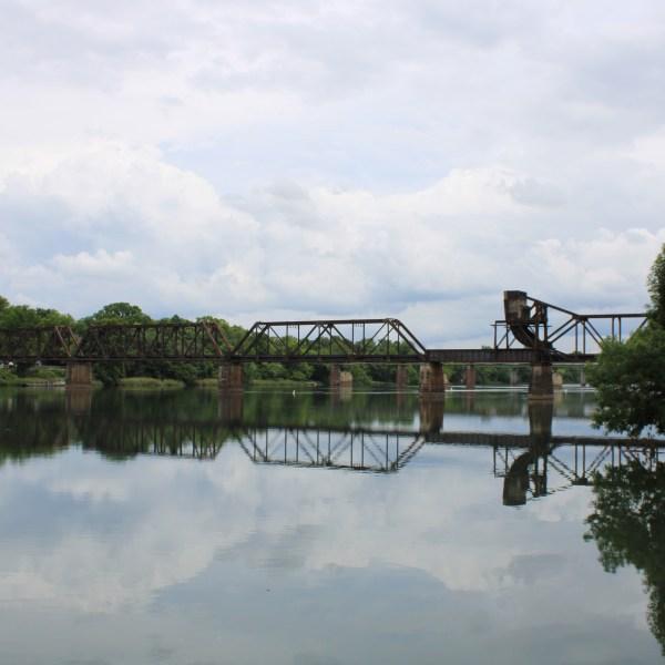 Railroad bridge over the Savannah River