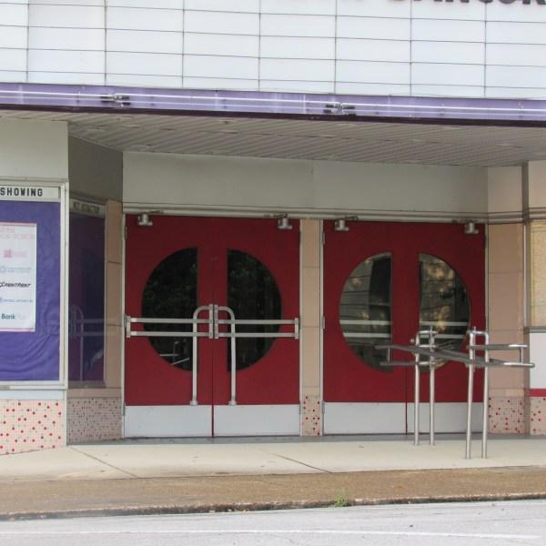 Historic Theater doors