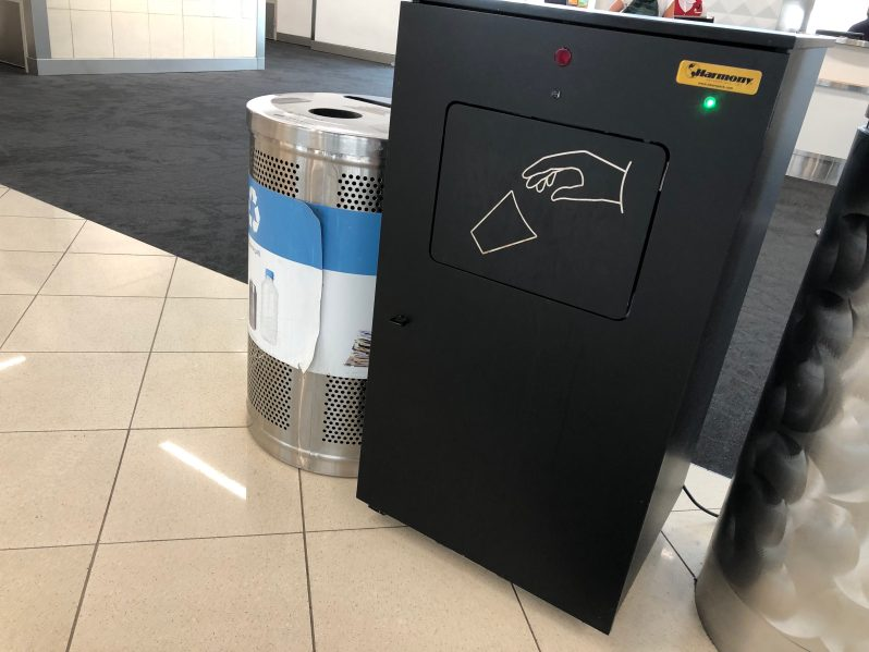 trash and recycling