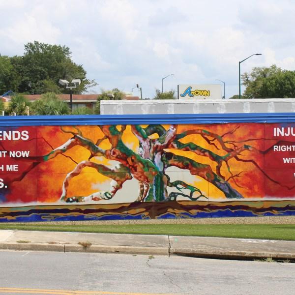 Orangeburg mural