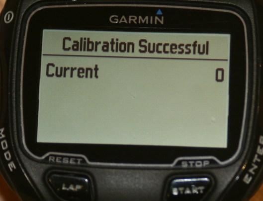 Garmin Vector 910XT Calibrate Pair