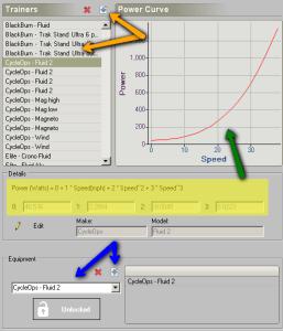 Trainer Power Track Settings - mechgt