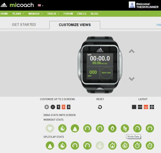 micoach-customize-views