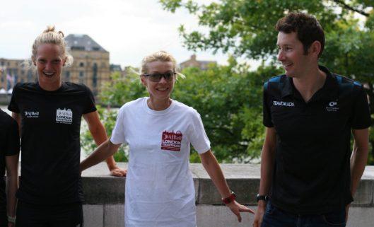 Emma Pallant & Stuart Hayes - AJ Bell London Triathlon