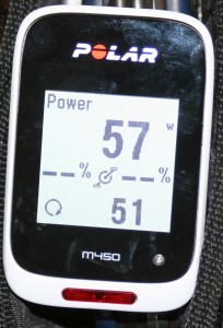 Polar M450 Pairs to ANT+ bePro power meter Via 4iiii Viiiiva V100