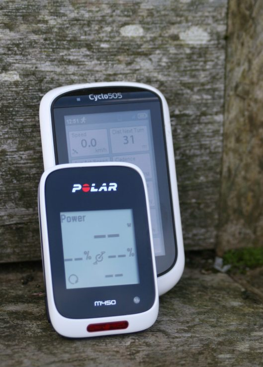 Polar M450 - vs MIO Cyclo 505HC