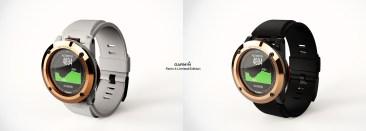 Garmin Fenix 4 Concept Source: Sylvain Gerber: http://goo.gl/DztAhw