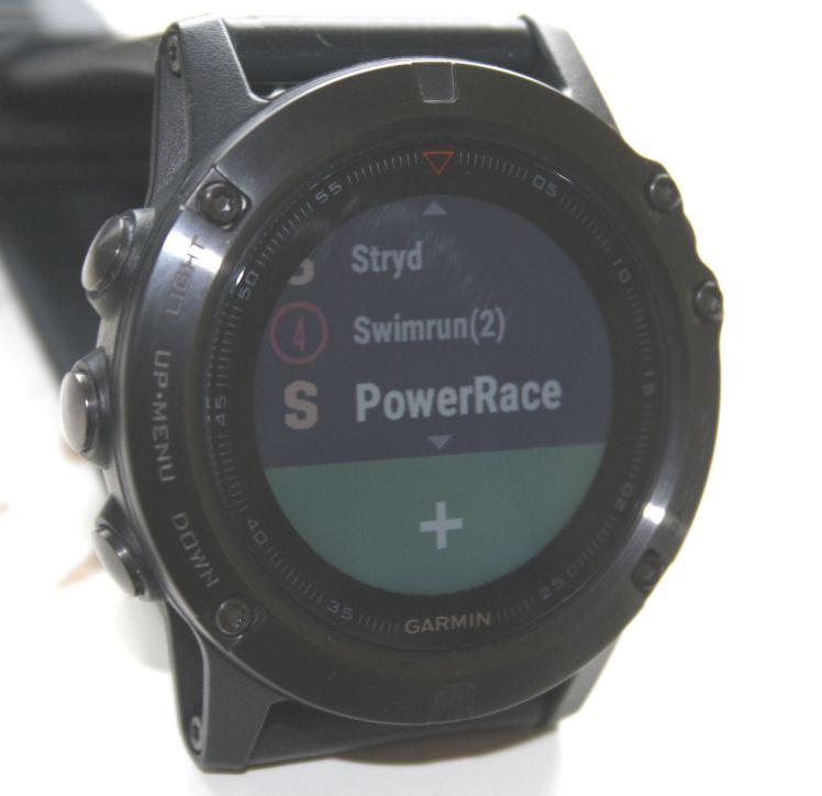 STRYD Power Race CIQ App