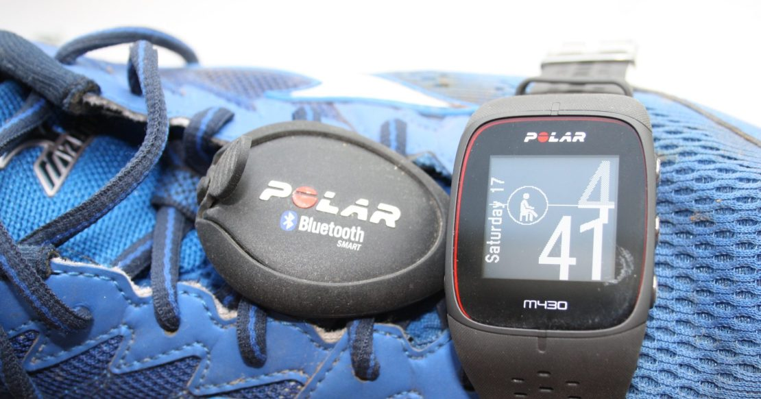 Polar M430 Detailed Review stride sensor footpod