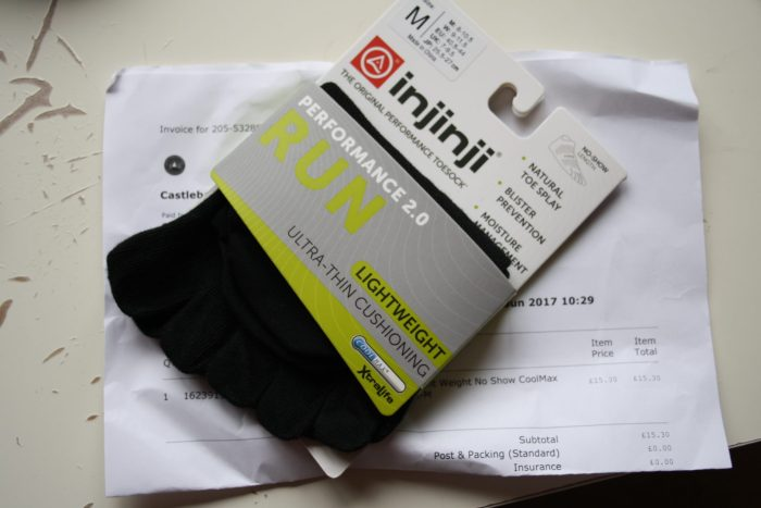 Injinji running Socks review