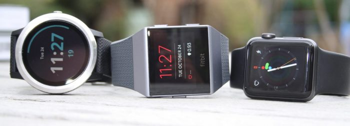 Fitbit Ionic Garmin Vivoactive 3 Apple Watch