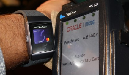 Fitbit Ionic Starling Bank Contactless Payment