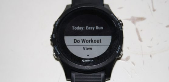 Garmin Coach - adaptive