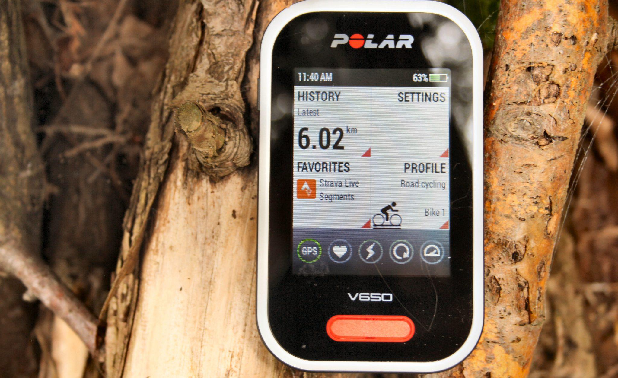 Polar V650 Review - STRAVA