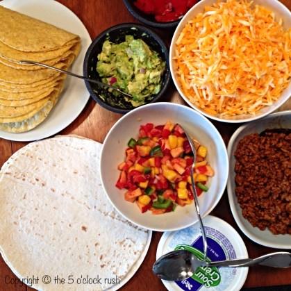Taco Bar Components