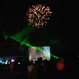 Fireworks and Laser show