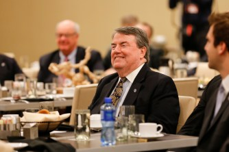 National Football Foundation President and CEO Steve Hatchell. Melissa Macatee photo.