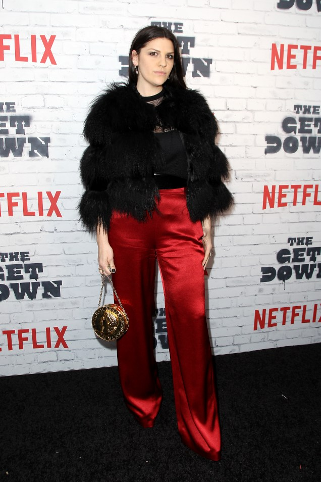 "- New York, NY - 4/5/17 - Netflix New York Kickoff Party for Part Two of ""The Get Down"" -Pictured: Jeriana San Juan -Photo by: Patrick Lewis/Starpix -Location: Irving Plaza"