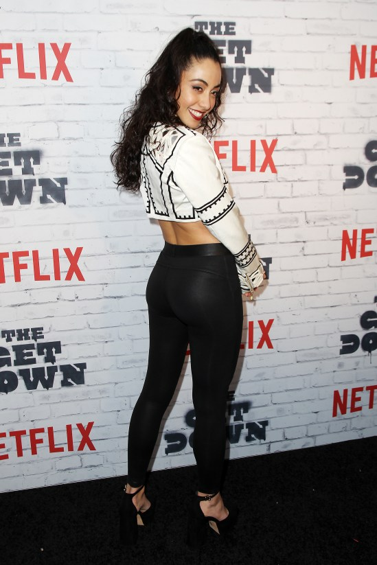"""- New York, NY - 4/5/17 - Netflix New York Kickoff Party for Part Two of """"The Get Down"""" -Pictured: Shryley Rodriguez -Photo by: Patrick Lewis/Starpix -Location: Irving Plaza"""