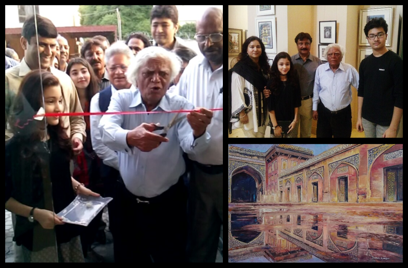 Inauguration of 'Through the Streets' at Oyster Art Gallery