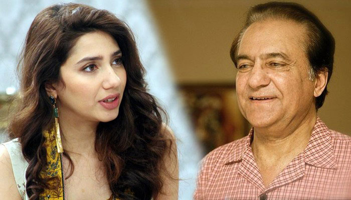 superstar mahira khan lashes back at Firdous Jamal about his comments on her age.