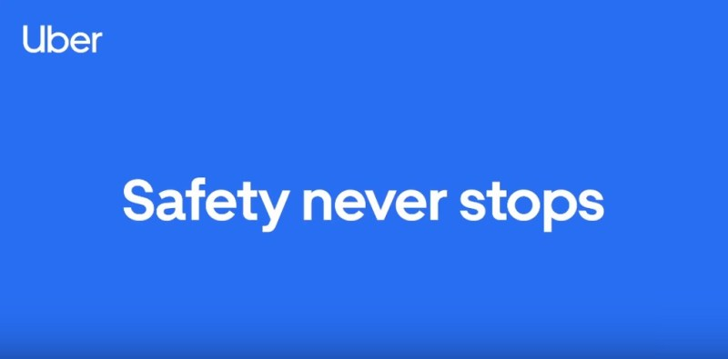 Uber has launched Safety Never Stops campaign for the safety of the commuters.