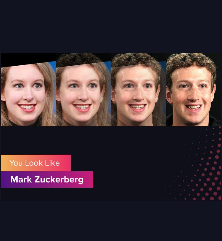 Mark Zuckerberg via Gradient App