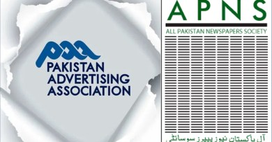 Pakistan Advertising Assoiation and APNS conflict