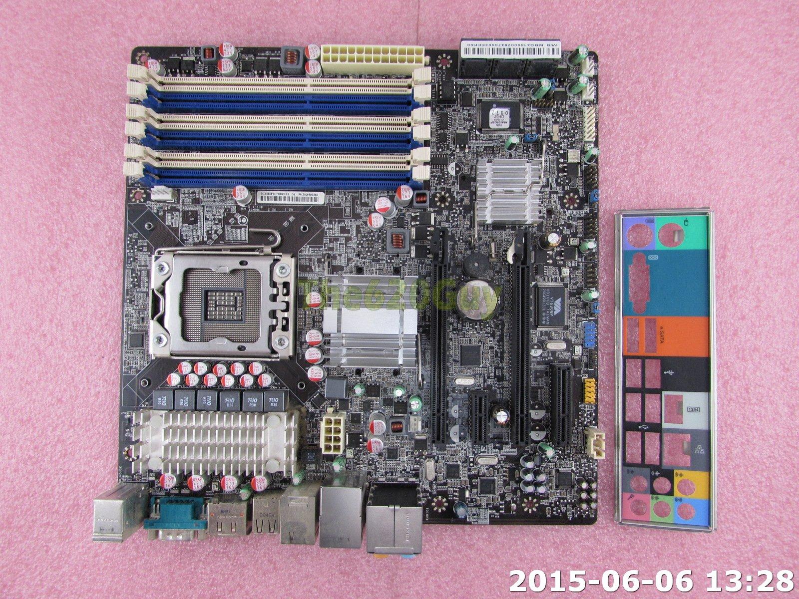 Gateway FX6800 X58 Motherboard System Board MB G4109 002 TBGM01-1 0-8EKS3H  - The620Guy com