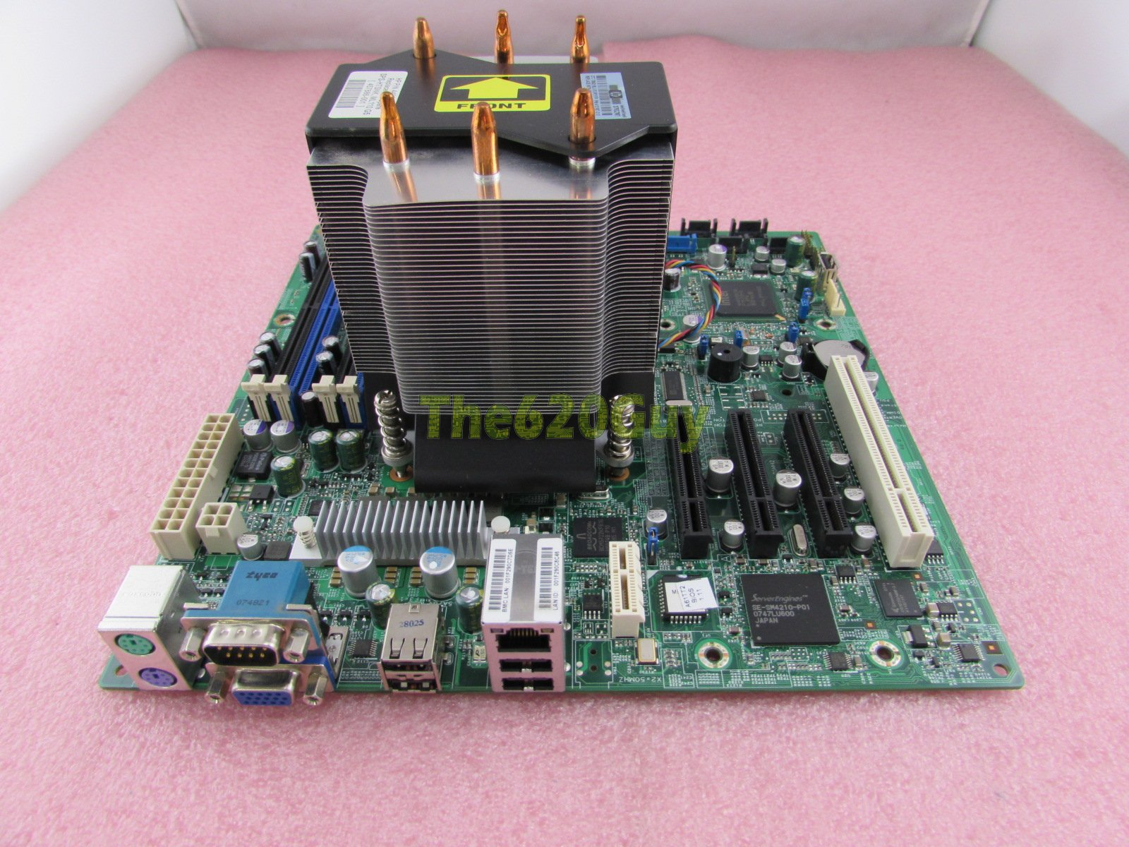 HP ML110 G5 Motherboard 457883-001 445072-001 A61TT2 + Core 2 Duo 2GHz CPU  + HSF - The620Guy com